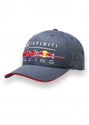 Infiniti Red Bull Racing Teamline Cap in grau