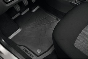 Dacia Dokker Gummifußmatten