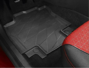 Renault Clio IV Gummifußmatten
